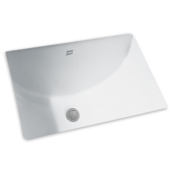 Picture of American Standard 0614000020 Studio Undermount Porcelain 1525 in x 2025 in Rectangular Bathroom Sink White