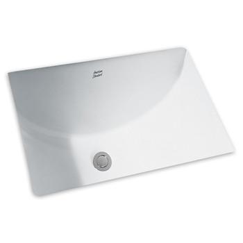 Picture of American Standard 0614000020 Studio Undermount Porcelain 1525 in x 2025 in Rectangular Bathroom Sink White
