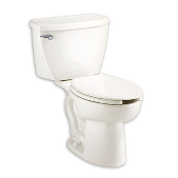 Picture of American Standard 2462016020 16 GPF Cadet Elongated Pressure Assisted Toilet White