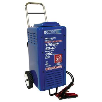 Associated Equipment 6002B 6V/12V/18V/24V Heavy-Duty Commercial Battery Charger Sale $717.99 SKU: ason6002b ID# 6002B UPC# 99684000390 :