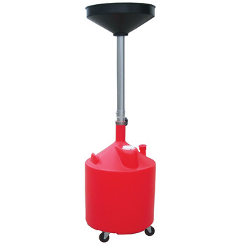 ATD 5188 18 Gal. Plastic Waste Oil Drain with Casters