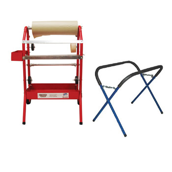 ATD 6561C Combo: 18 in. Masking Machine w/500 lbs. Capacity Work Stand