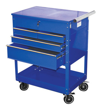 ATD 7047 Professional 4-Drawer Service Cart Blue