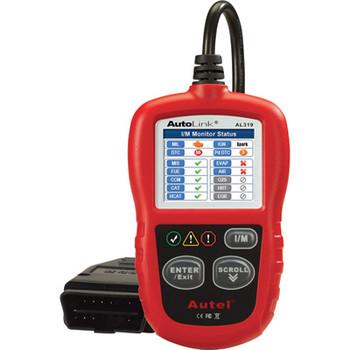 Autel AL319 Autolink Can/Obd IIColor Sale $47.99 SKU: aulnal319 ID# AL319 UPC# 937357200466 :
