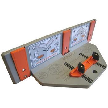 Bench Dog 10-027 Crown-Cut Polymer Cutting Jig