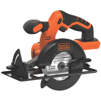 Picture of Black  Decker BDCCS20BR 20V MAX Cordless Lithium-Ion 5-12 in Circular Saw Bare Tool