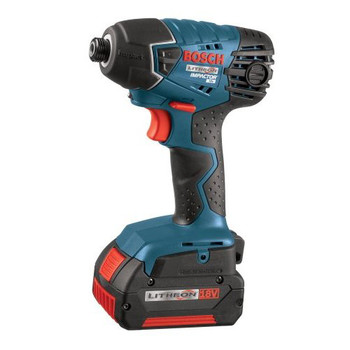 Picture of Bosch 25618-01 18V Cordless Lithium-Ion 14 in Impact Driver with FatPack Batteries