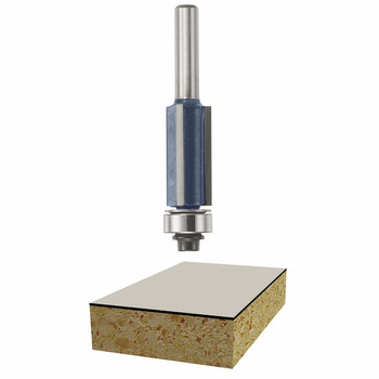Bosch 85216M 1/2 in. x 1 in. Laminate Flush Trim Router Bit