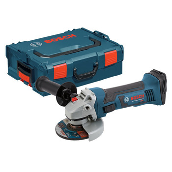 Bosch CAG180BL 18V Cordless Lithium-Ion 4-1\/2 in. Grinder (Bare Tool) with L-BOXX-2 and Exact-Fit Insert