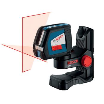 Bosch GLL2-50 Self-Leveling Crossline Laser with Pulse