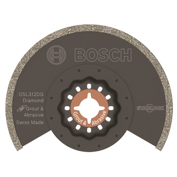 Bosch OSL312DG 3-1/2 in. Starlock Diamond Grit Grout Blade