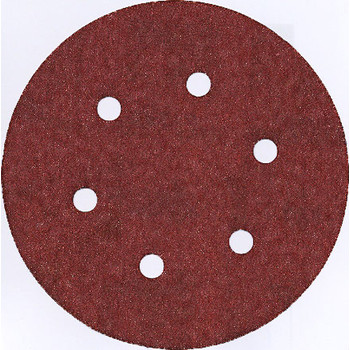 Bosch SR6R000 6 in. 60 - 120 - 240-Grit Sanding Discs for Wood (6-Pack)