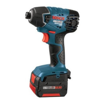 Picture of Bosch 25614-01-RT 144V Cordless Lithium-Ion 14 in Impact Driver with FatPack Batteries