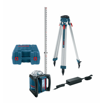 Bosch GRL500HCK-RT Self-Leveling Horizontal Rotary Laser Kit