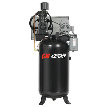 Campbell Hausfeld CE7000 7.5 HP Two-Stage 80 Gallon Oil-Lube Stationary Vertical Air Compressor Sale $1867.99 SKU: CBHNCE7000 ID# CE7000 UPC# 45564625948 :