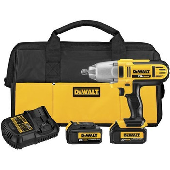 Dewalt DCF889M2 20V MAX XR Cordless Lithium-Ion 1/2 in. High-Torque Impact Wrench Kit with Detent Pin