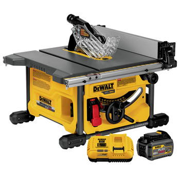 Dewalt DCS7485T1 60V MAX Cordless Lithium-Ion 8-1/4 in. Table Saw Kit with FLEXVOLT Battery