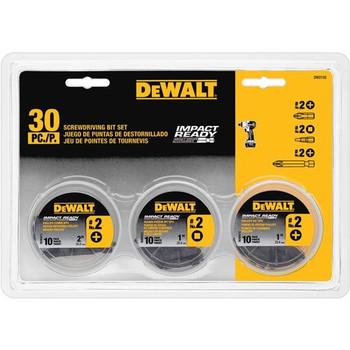 Dewalt DW2155 30-Piece Impact Ready Screwdriving Bit Set