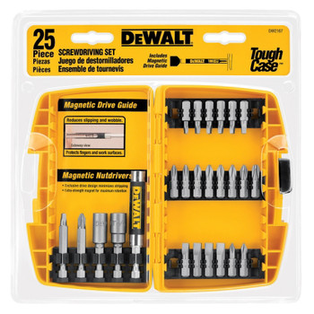 Dewalt DW2167 25-Piece Screwdriving Bit Set with Tough Case