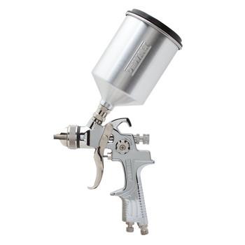 Dewalt DWMT70777 Gravity Feed HVLP Air Spray Gun with 600cc Aluminum Cup