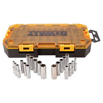 Dewalt DWMT73811 20-Piece Stackable 1/4 in. Deep Drive Socket Set