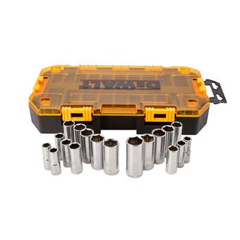 Dewalt DWMT73812 20-Piece Stackable 3/8 in. Deep Drive Socket Set