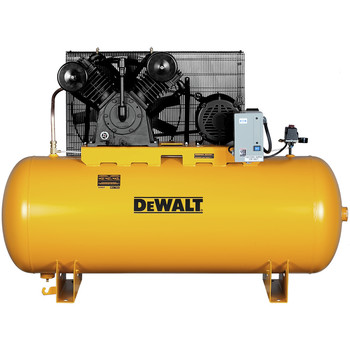 Dewalt DXCMH9919910 10 HP 120 Gallon Baldor Two Stage Oil-Lube Industrial Air Compressor Sale $2647.99 SKU: dewndxcmh9919910 ID# DXCMH9919910 UPC# 846212009352 :