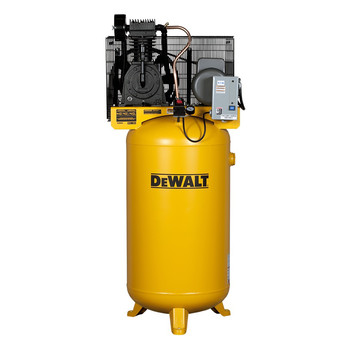 Dewalt DXCMV5018055 5 HP 80 Gallon Baldor Two Stage Oil-Lube Industrial Air Compressor Sale $1717.99 SKU: dewndxcmv5018055 ID# DXCMV5018055 UPC# 846212009338 :