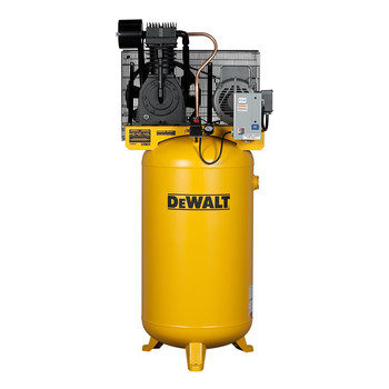 Dewalt DXCMV7518075 7.5 HP 80 Gallon Baldor Two Stage Oil-Lube Industrial Air Compressor Sale $2187.99 SKU: dewndxcmv7518075 ID# DXCMV7518075 UPC# 846212009345 :