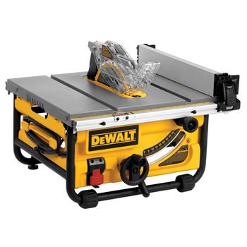 Dewalt DWE7480R 10 in. 15 Amp Site-Pro Compact Jobsite Table Saw