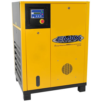 EMAX ERV0070001 7.5 HP 208/230V 1-Phase Variable-Speed Drive Rotary Screw Air Compressor