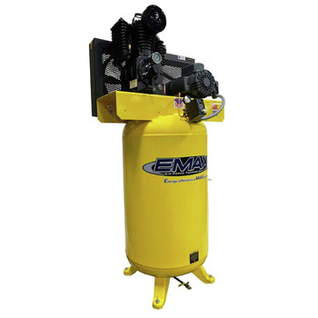 EMAX PE05V080I1 80 Gallon 5 HP 2-Stage 1-Phase Vertical Air Compressor Sale $2037.99 SKU: eaxnpe05v080i1 ID# PE05V080I1 UPC# 815002012032 :