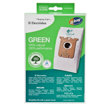 Picture of Electrolux E212B S-Bag Green Vacuum Bag 3-Pack