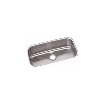 Elkay DXUH2816 18-Gauge Stainless Steel 30.5 x 18.25 x 8 in. Single Bowl Undermount Kitchen Sink