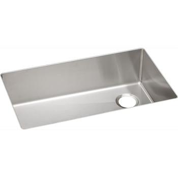 Elkay ECTRU30179R Crosstown Undermount 31-1/2 in. x 18-1/2 in. Single Basin Kitchen Sink (Steel)