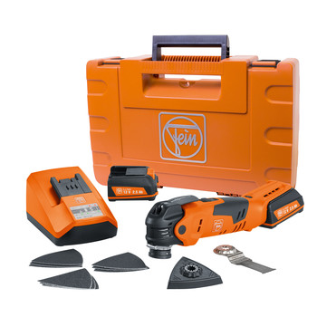 Fein 71292561090 MultiTalent 12V 2.5 Ah Cordless Lithium-Ion Oscillating MultiTool