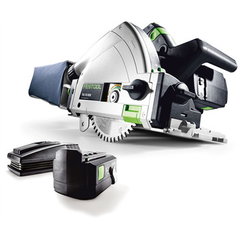 Picture of Festool 561718 18V 52 Ah Cordless Lithium-Ion Plunge Cut Track Saw PLUS