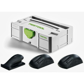 Festool 57000022 Hand Sanding Block Set In T-Loc Mini Systainer