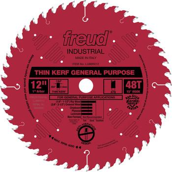 Freud LU86R012 12 in. 48 Tooth Thin Kerf General Purpose Saw Blade