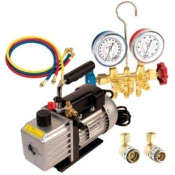 FJC 9281 Vacuum Pump & R134a Manifold Gauge Set Assortment Sale $164.99 SKU: fjcn9281 ID# 9281 UPC# 609989013072 :