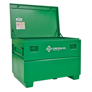 Greenlee 3048 25 cu-ft. 48 x 30 x 30 in. Storage Chest with Tray