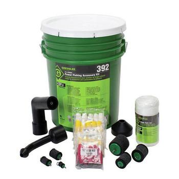 Greenlee 392 Li´l Fisher Vacuum/Blower Power Fishing System Accessory Kit Sale $214.99 SKU: glen392 ID# 392 UPC# 783310390510 :