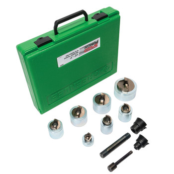 Greenlee 7307SP Speed Punch Knockout Kit for 1/2 in. to 2 in. Conduit