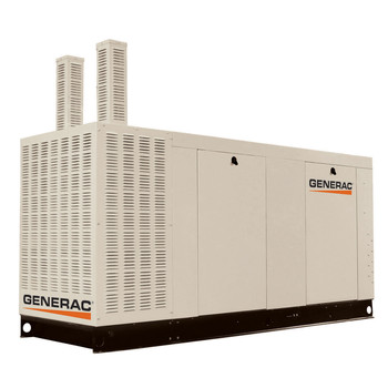 Generac QT15068KNAC Liquid-Cooled 6.8L 150kW 277/480V 3-Phase Natural Gas Aluminum Commercial Generator (CARB)