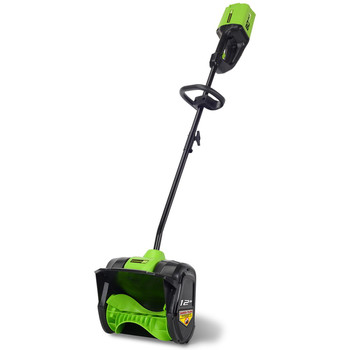 Greenworks 2601202 Pro 80V Cordless Lithium-Ion 12 in. Snow Shovel (Bare Tool)