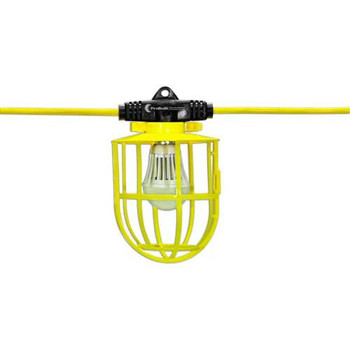 Hang-A-Light 11108100 100 ft. 15 Watt Plastic Caged LED String Lights
