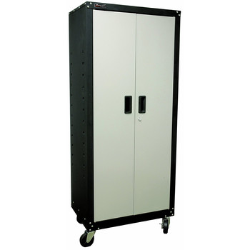Homak GS00765021 2 Door 4 Shelf Steel Mobile Cabinet