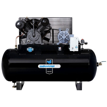 Industrial Air IH9919910 230V 10 HP 120 Gallon Oil-Lube Horizontal Air Compressor with Aosmith Motor Sale $2497.99 SKU: idanih9919910 ID# IH9919910 UPC# 846212008300 :