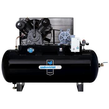 Industrial Air IH9929910 200V 10 HP 120 Gallon Oil-Lube Horizontal Air Compressor with Aosmith Motor Sale $2497.99 SKU: idanih9929910 ID# IH9929910 UPC# 846212008317 :