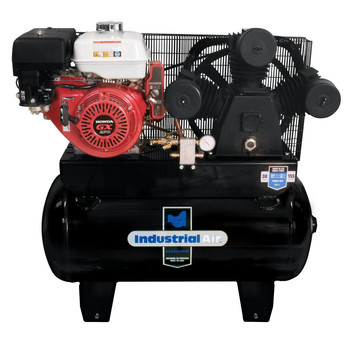Industrial Air IHA9093080.ES 9 HP 30 Gallon Oil-Lubricated Gas Air Compressor with Electric Start Sale $1870.99 SKU: idaniha9093080.es ID# IHA9093080.ES UPC# 846212004098 :
